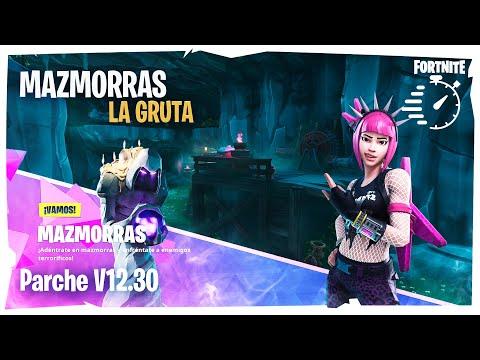 MAZMORRAS ► LA GRUTA 🔑❓🔑 Contra Reloj ⏱⏱⏱  | PARCHE v12.30 | FORTNITE SALVAR EL MUNDO