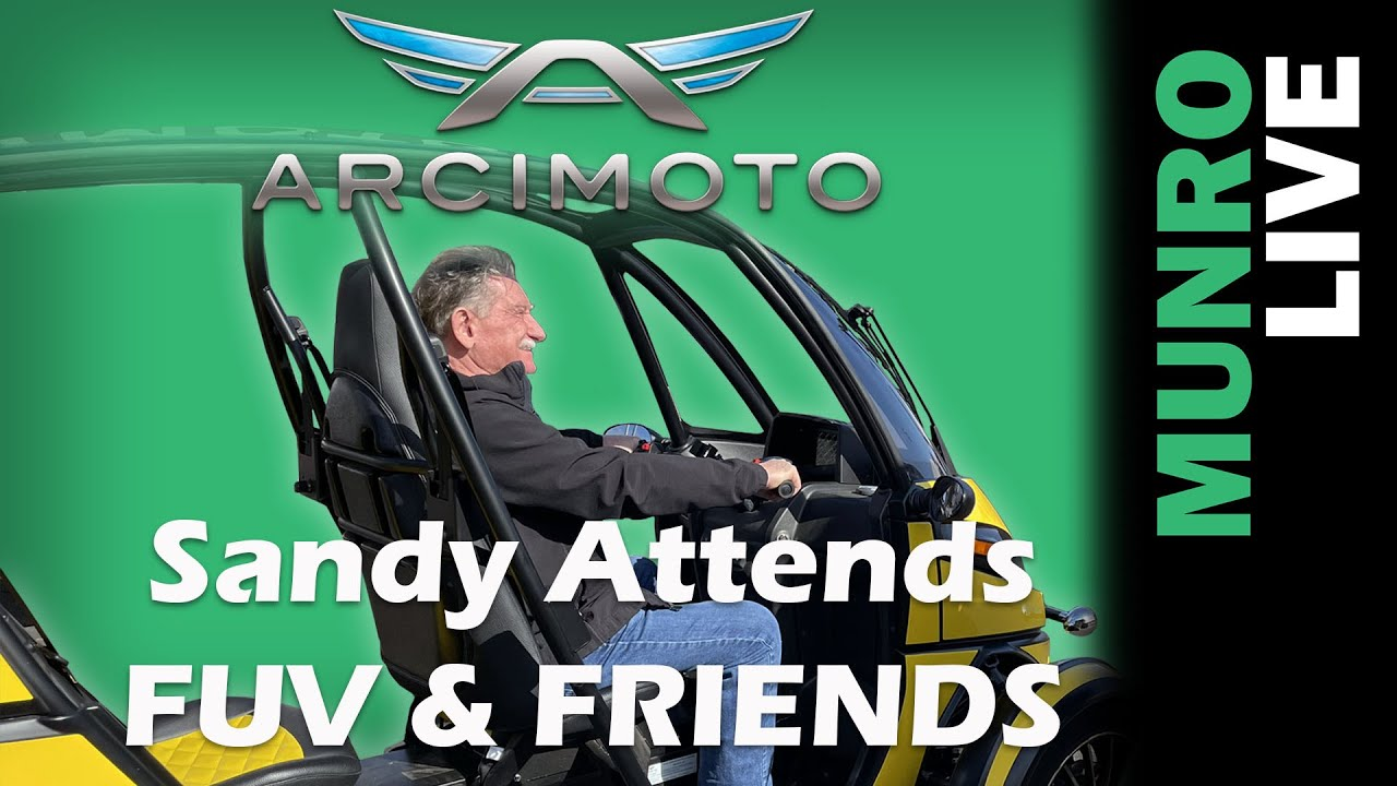 Arcimoto's FUV & Friends at PIR - More to Come Next Week