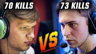 CS:GO - S1MPLE vs DRAKEN FPL HELL (OVER 70 FRAGS BOTH)