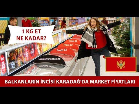 BALKANLAR | Karadağ'da Market,Alkol Fiyatları Ve Yaşam