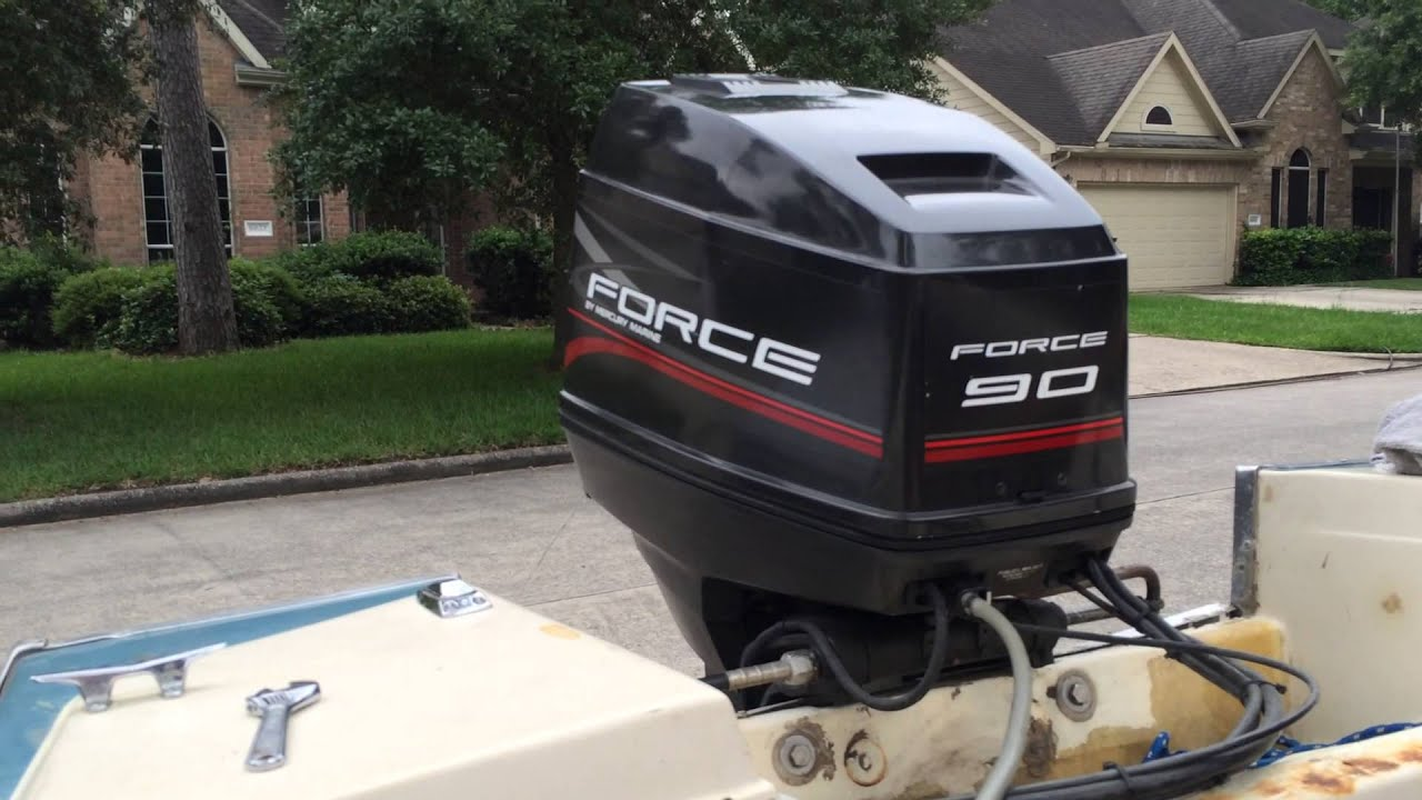 Force 90 Hp Outboard