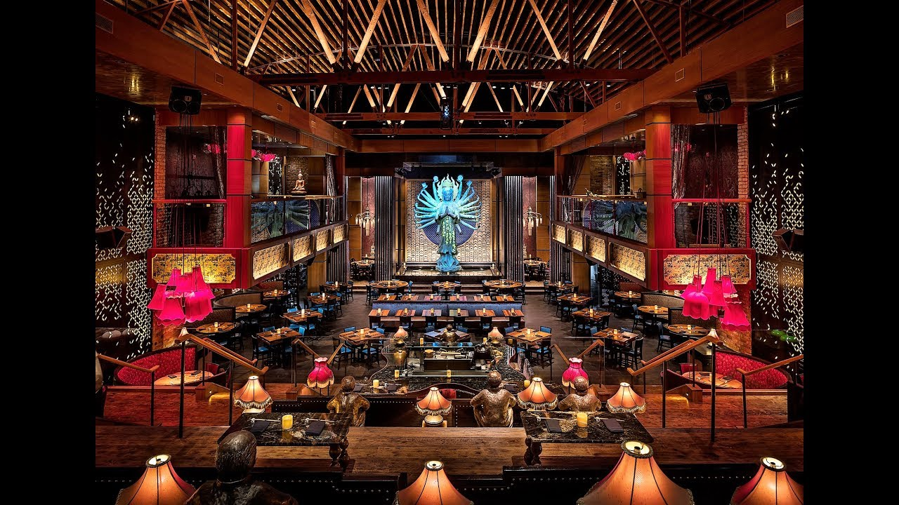 Tao Hollywood Los Angeles Dinner And Light Show