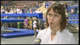 В Краснодаре проходят всероссийские соревнования по прыжкам на батуте