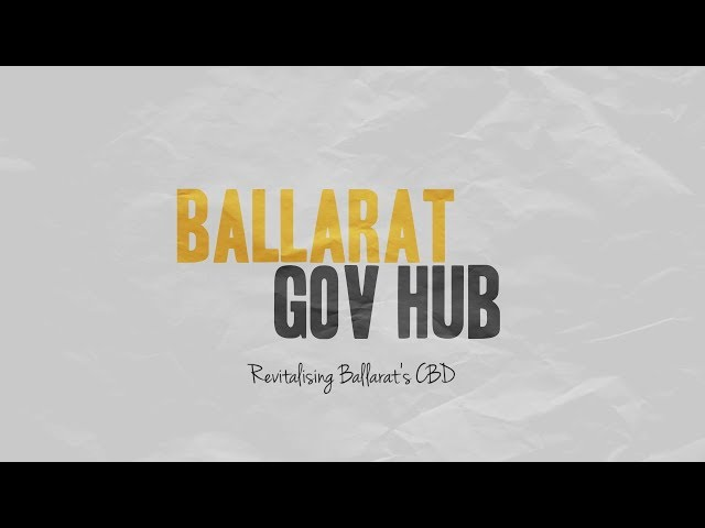 Ballarat Gov Hub - Update 3 (Kane Nicholson Joint Venture)