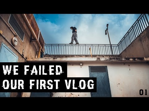 OUR FIRST VLOG EVER  | WE FAILED !