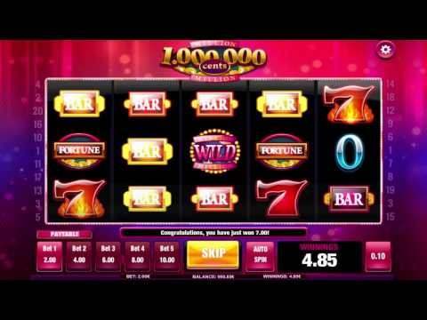 Million Cents™ slot by iSoftBet video game preview