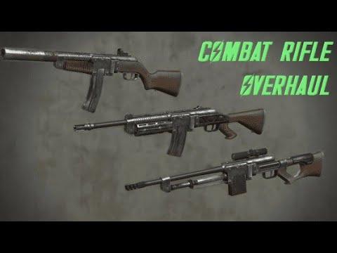 obturador electrodo fractura  Combat rifle overhaul - Fallout 4 mod | ScavengingGamer - YouTube