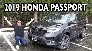 All-New 2019 Honda Passport on Everyman Driver