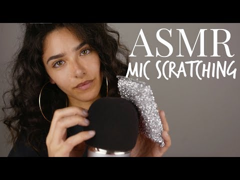 ASMR MIC SCRATCHING (+ some triggers words...)