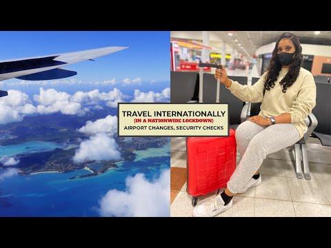 Travelling to Antigua/Caribbean during Lockdown | Travel Vlog