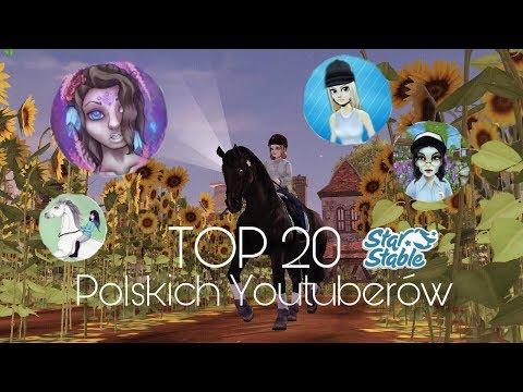 Top 20 Polskich Youtuberów STAR STABLE *Kwiecień 2019* AKTUALIZACJA