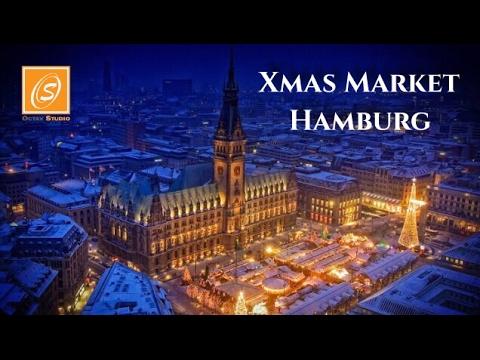 Xmas Market Hamburg, Germany 2016
