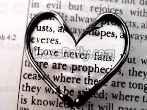 Love Never Fails- Brandon Heath Lyrics