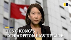 Hong Kong's controversial extradition law amendment plans