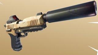 Fortnite Silenced Pistol In Real Life!!