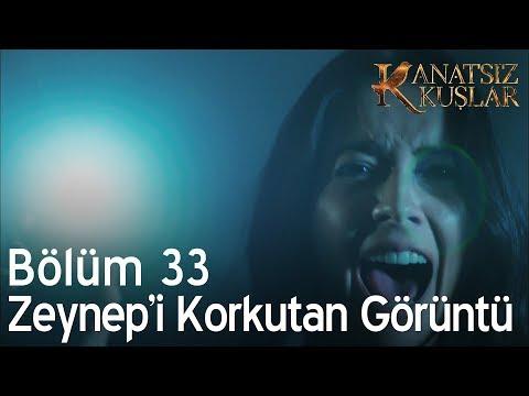 Kanatsız Kuşlar 33. Bölüm - Zeynep'i korkutan görüntü!