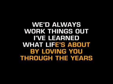 Kenny Rogers   Through The Years Karaoke