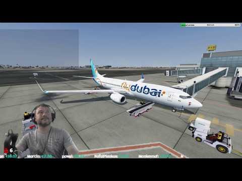[P3Dv4.2]  Dubai International Airport (OMDB) → Rzeszów-Jasionka Airport (EPRZ)  [Vatsim]