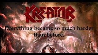 Kreator - Black Sunrise - Unofficial Lyric Video