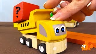 Brio Toys - Learn Colors ⭐︎ Forgetful Mr Truck! ⭐︎ Color Cube Construction Demo For Kids!