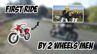 first ride en musique 2wheels men