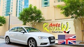 2014 Audi A3 Sedan Ambition 30 TFSI - AutoReview - Dubai (Episode 17) [ENG]