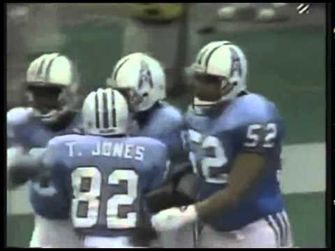 Houston Oilers - Drew Hill catches TD from Warren Moon