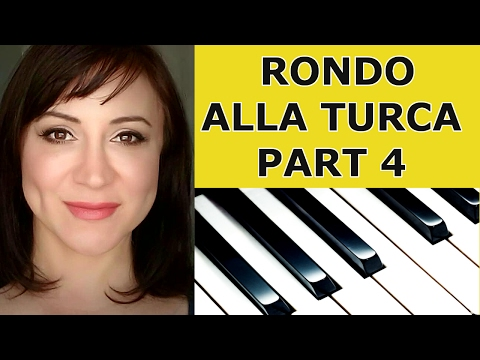 Rondo Alla Turca (Turkish March) Piano Tutorial - Part 4