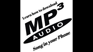 How to download mp3 song in your phone