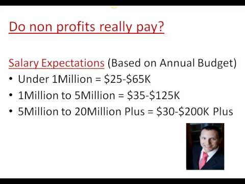 Non profit salaries: Do they really pay? Mp3
