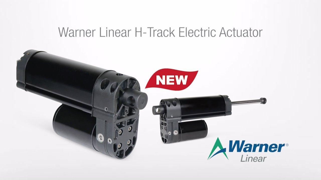Warner Linear | H-Track Electric Actuator on