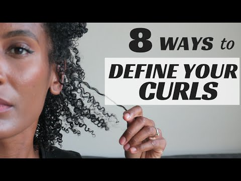 8 TECHNIQUES TO DEFINE YOUR CURLS - Olivia Rose