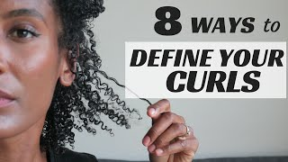 8 techniques to define your curls olivia rose