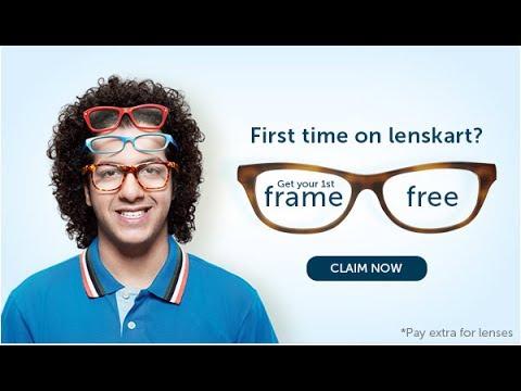 6441cfa4c97 LensKart Eye Glasses Unboxing with FREE Frame