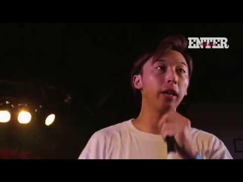 'ミステリオ vs 呂布カルマ' / ENTER MC BATTLE (2018年7月決勝2本目)