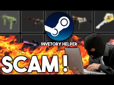 STEAM INVENTORY HELPER SCAM ? EXPOSED !