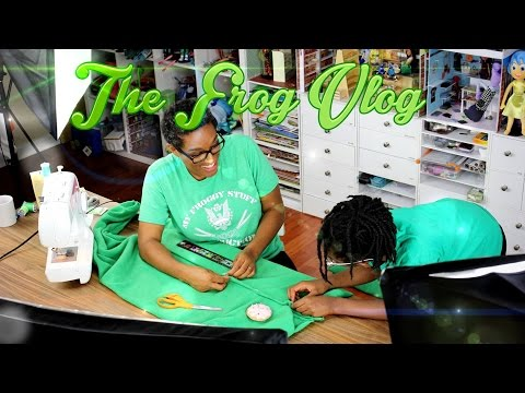 DIY - The Frog Vlog: We Make a Life Sized Onesie - Handmade - Clothes - Crafts