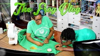 The Frog Vlog:  We Make a Life Sized Onesie