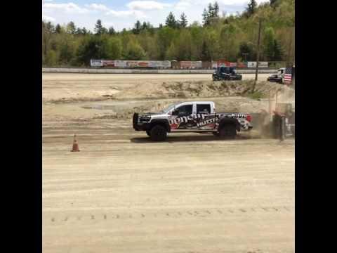 2016 Truck Pull Venom Nissan Titan 1st 6800 Legion Speedway NH Walter Cheney