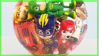 Learn Colors with PJ Masks wrong heads
