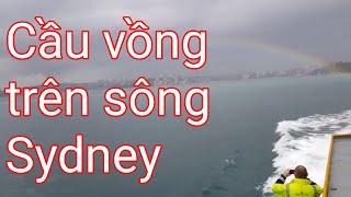 Ngắm cầu vồng ngay cửa sông Sydney