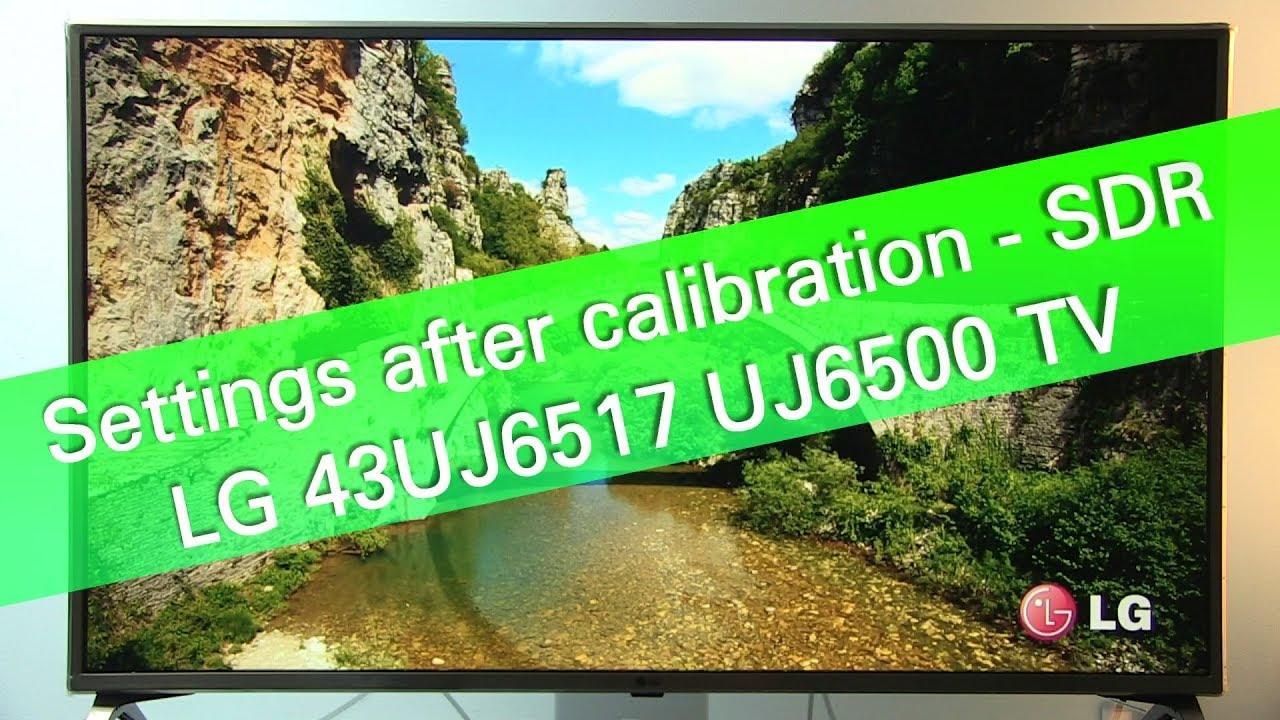 Official 2017 LG 43/49 UJ6500 Series Thread - AVS Forum | Home