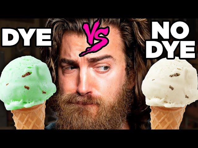 Dyed vs. Undyed Food Taste Test