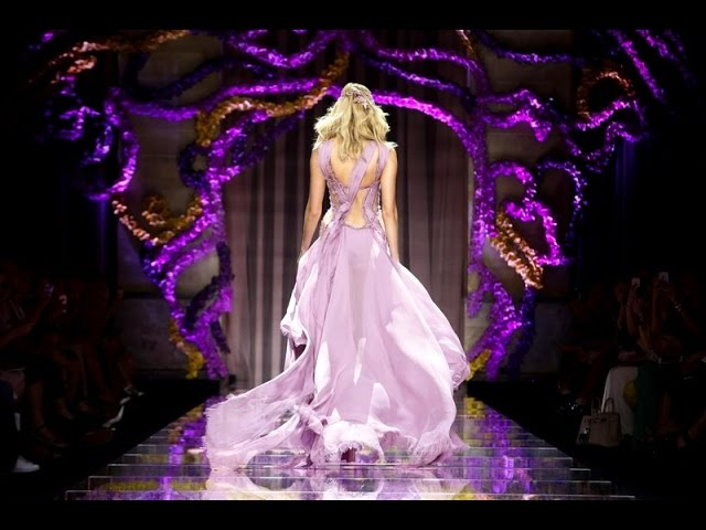 Versace | Haute Couture Fall Winter 2015/2016 Full Show | Exclusive