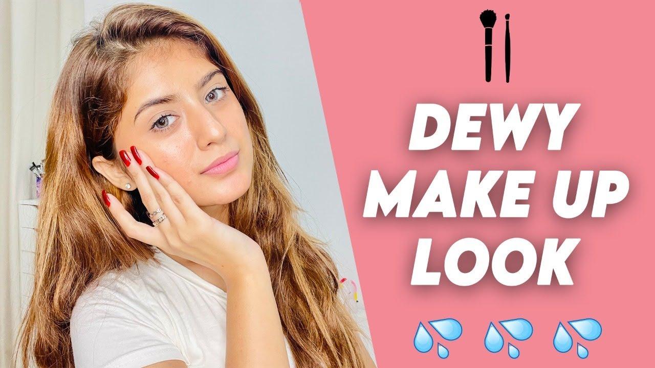 My Go – To Dewy Makeup Look    Arishfa Khan