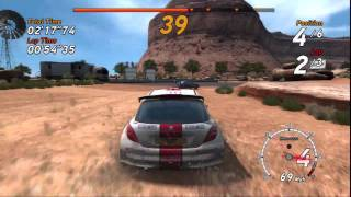 SEGA Rally™ Online Arcade - PS3 gameplay - HD 720p