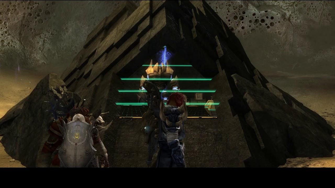 Guild Wars 2 - Human Story Mode - 2nd Cutscene - YouTube