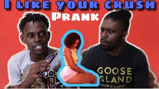 I Like Your Crush TrishSassy Prank On Best friend (FIRST TIME SEEING MY FRIEND CRY)