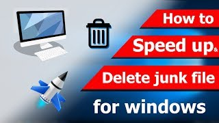 how to speed up your pc  delete junk file TecHPC TutorialBD