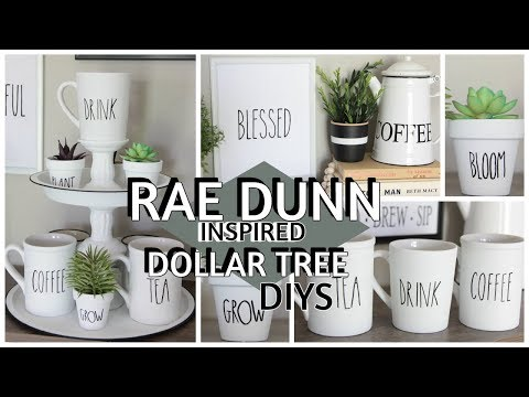 DOLLAR TREE RAE DUNN INSPIRED DIYS